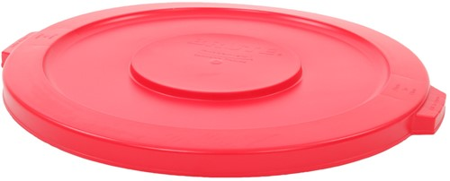 Rubbermaid Deksel, 121,1 L, Rood