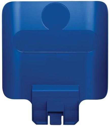 Rubbermaid Paneel voor Slim Jim Recyclingstation, Blauw