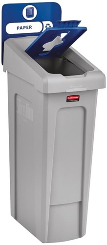 Rubbermaid Slim Jim Recyclingstation Starterset