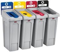 Recyclingstation Labelset, Engels-2