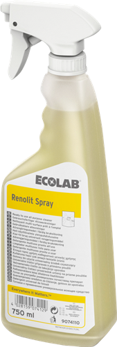 Ecolab Renolit Spray - Keukenreiniger, 12 x 750 ml