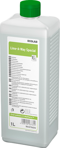 Ecolab Lime-A-Way Special Ontkalking, 4 x 1 L