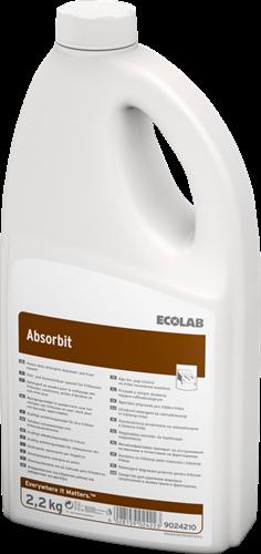 Ecolab Absorbit - Ontvetter in poedervorm, 6 x 2,2 kg
