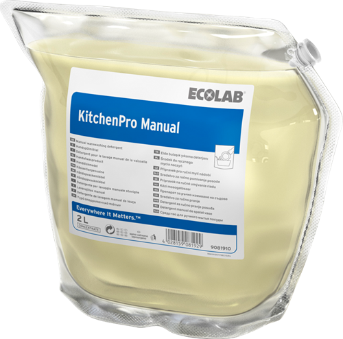 Ecolab KitchenPro Manual, 2 x 2 L