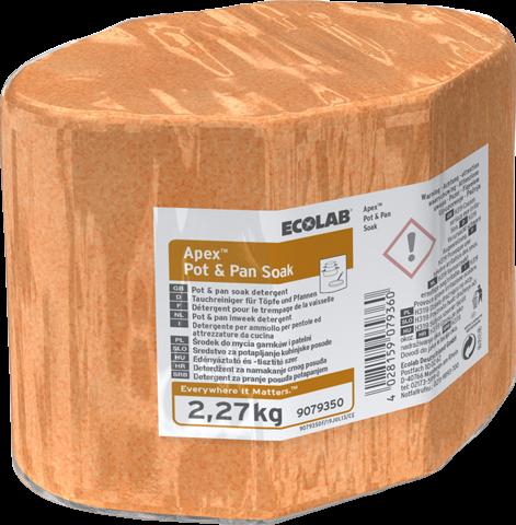 Ecolab APEX Pot & Pan Soak - Vaatwas, 3 x 2,27 kg