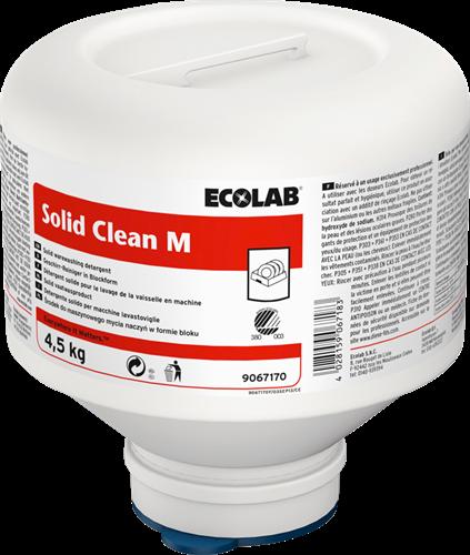 Ecolab Solid Clean M - Middelhard water, 4 x 4,5 kg
