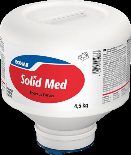 Ecolab Solid Med - Middelhard water 4 x 4,5 kg