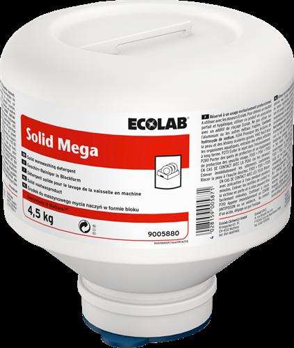 Ecolab Solid Mega - Vaatwasmiddel, 4 x 4,5 kg