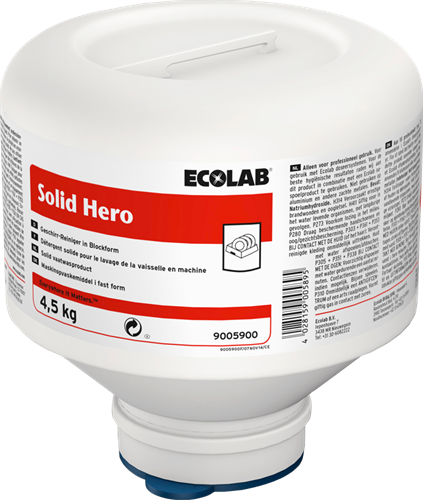 Ecolab Solid Hero, 4 x 4,5 kg