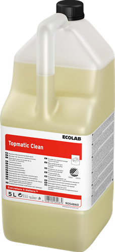 Ecolab Topmatic Clean,  4 x 5 L