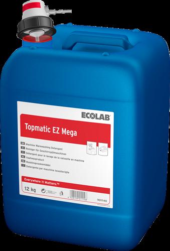 Ecolab Topmatic EZ Mega - Vloeibaar vaatwasmiddel, 12 kg