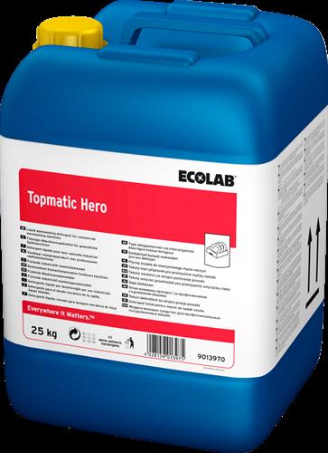 Ecolab Topmatic Hero - Vloeibaar vaatwasmiddel, 25 kg