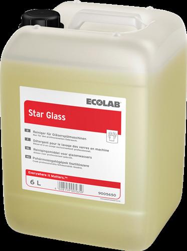 Ecolab Star Glass - Vloeibaar vaatwasmiddel, 6 L
