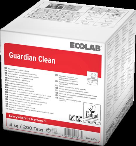 Ecolab Guardian Clean - Vaatwastabletten, 4 kg