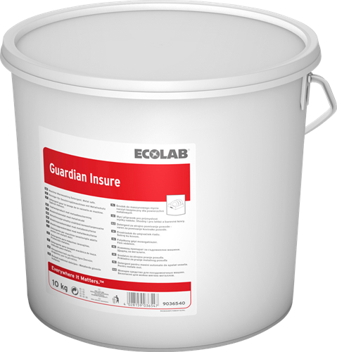 Ecolab Guardian Insure - Vaatwaspoeder, 10 kg