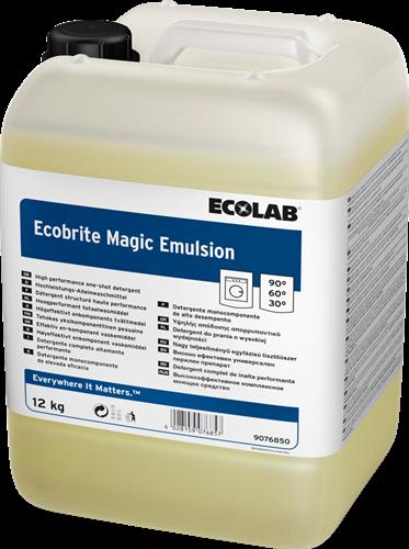 Ecolab Ecobrite Magic Emulsion - Vloeibaar wasmiddel, 12 kg