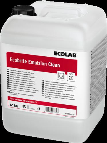 Ecolab Ecobrite Emulsion Clean - Vloeibaar wasmiddel, 12 kg