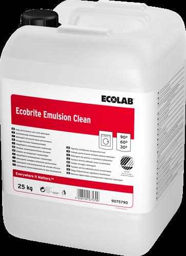 Ecolab Ecobrite Emulsion Clean - Vloeibaar wasmiddel, 25 kg