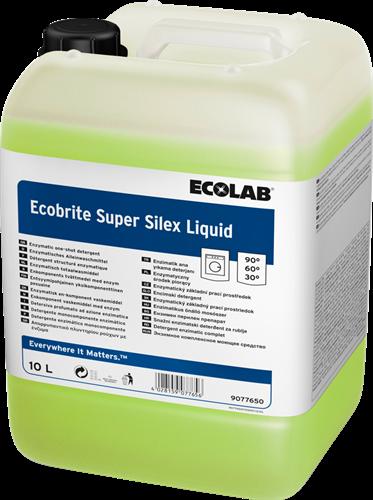 Ecolab Ecobrite Super Silex Liquid - Vloeibaar wasmiddel, 10 L