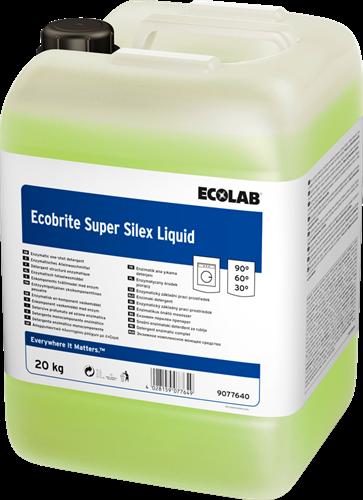 Ecolab Ecobrite Super Silex Liquid - Vloeibaar wasmiddel, 20 kg