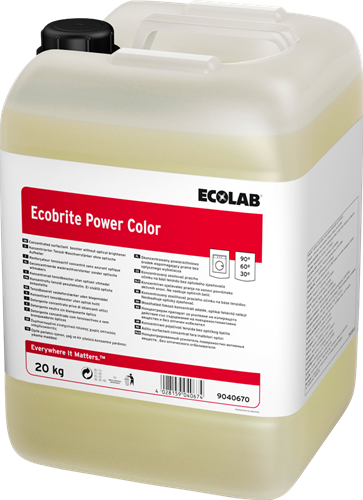 Ecolab Ecobrite Power Color - Waskrachtversterker, 10 L