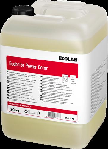 Ecolab Ecobrite Power Color -Waskrachtversterker, 20 kg