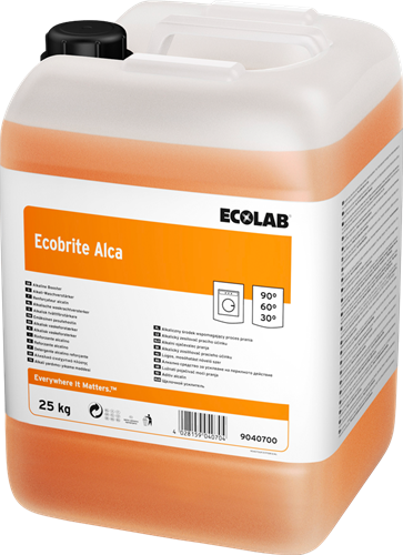 Ecolab Ecobrite Alca - Waskrachtversterker, 25 kg