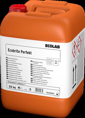 Ecolab Ecobrite Perfekt - Bleekmiddel met perazijnzuur, 20 kg