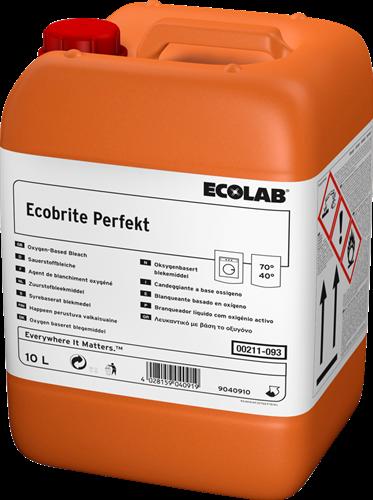 Ecolab Ecobrite Perfekt - Bleekmiddel met perazijnzuur, 10 L