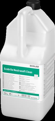 Ecolab Ecobrite Neutrasoft Clean - Wasverzachter, 2 x 5 L