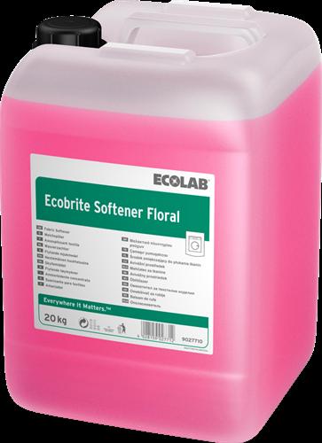 Ecolab Ecobrite Softener Floral - Wasverzachter, 20 kg