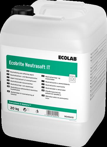Ecolab Ecobrite Neutrasoft IT, 20 kg