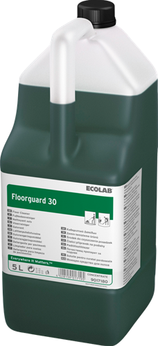 Ecolab Floorguard 30 - Vloerreiniger, 2 x 5 L