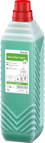 Ecolab Gloss Brillant Clean S, 6 x 1 L