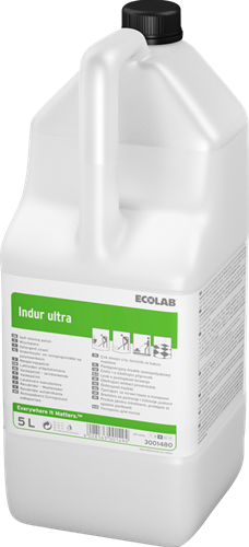 Ecolab Indur Ultra Vloerreiniger met polymeer, 2 x 5 L
