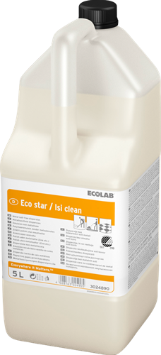 Ecolab Eco Star/Isi Clean Polymeeremulsie, 2 x 5 L
