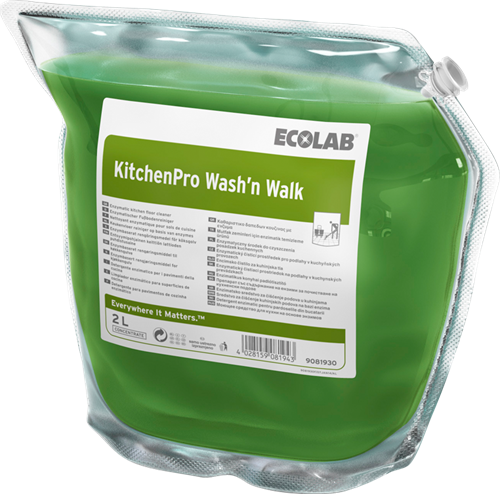 Ecolab KitchenPro Wash'n Walk, 2 x 2 L