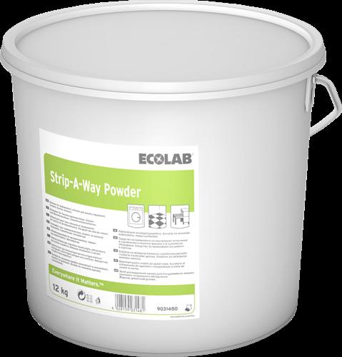 Ecolab Strip-A-Way Powder,  12 kg
