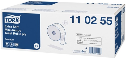 Tork Extra Soft Mini Jumbo T2 Toiletpapier (110255)