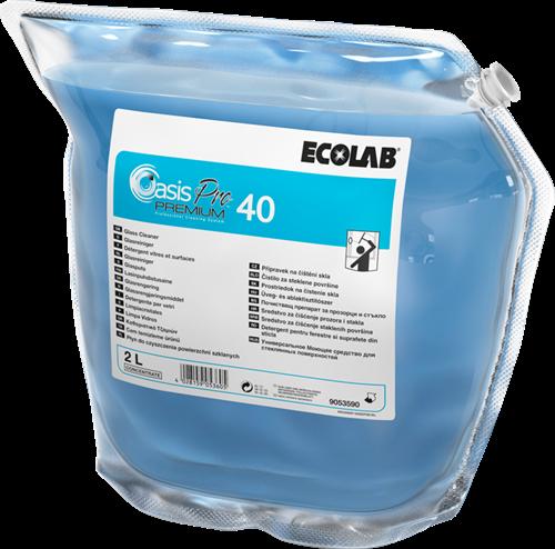 Ecolab Oasis Pro 40 - Alles- en glasreiniger, 2 x 2 L
