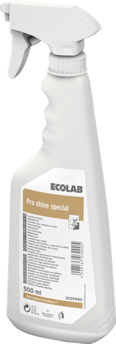 Ecolab Pro Shine Special - Meubelreiniger, 6 x 500 ml