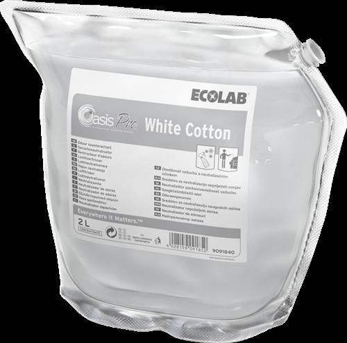 Ecolab Oasis Pro White Cotton, 2 x 2 L