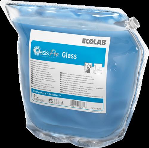 Ecolab Oasis Pro Glass, 2 x 2 L