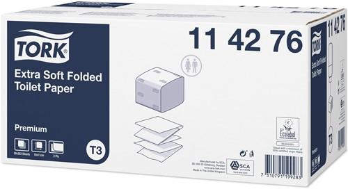 Tork Extra Soft Folded T3 Toiletpapier (114276)