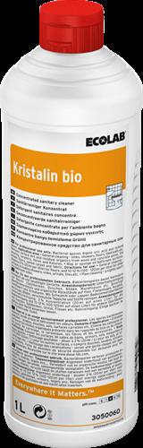 Ecolab Kristalin Bio - Alkalische Sanitairreiniger, 6 x 1 L