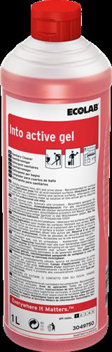 Ecolab Into Active Gel - Sanitairreiniger, 12 x 1 L