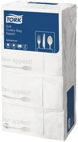 Tork Soft Pochette, Bon Appetit 3-laags, 6 x 200 stuks