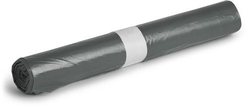 HDPE Afvalzakken, 60L, 61x80 cm, T20, Grijs