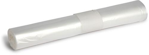HDPE Afvalzakken, 50L, 63x70 cm, T15, Transparant