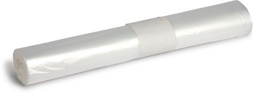 HDPE Afvalzakken, 120L, 70x110 cm, T25, Transparant